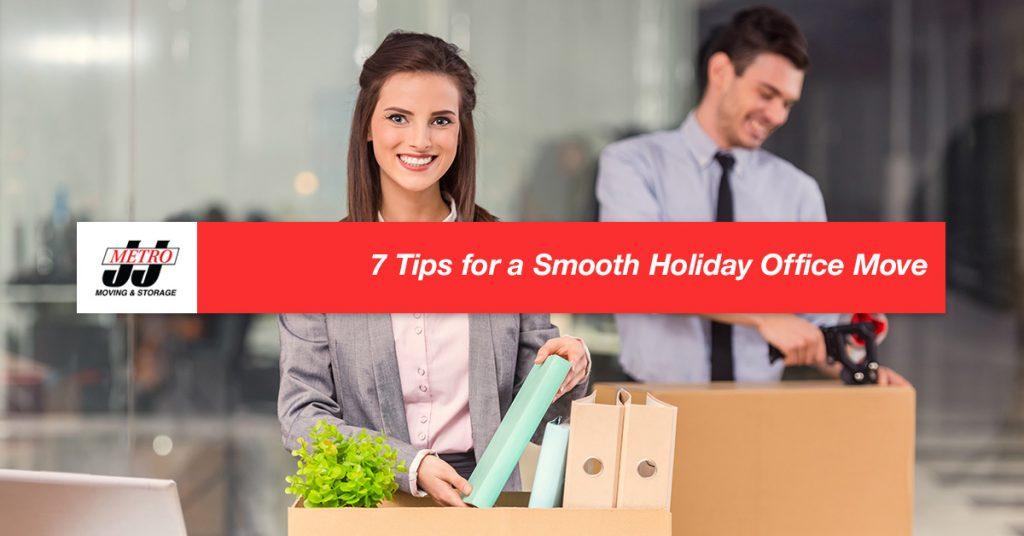 7 Tips for a Smooth Holiday Office Move